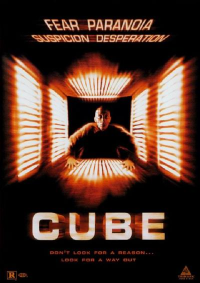 Cube affiche