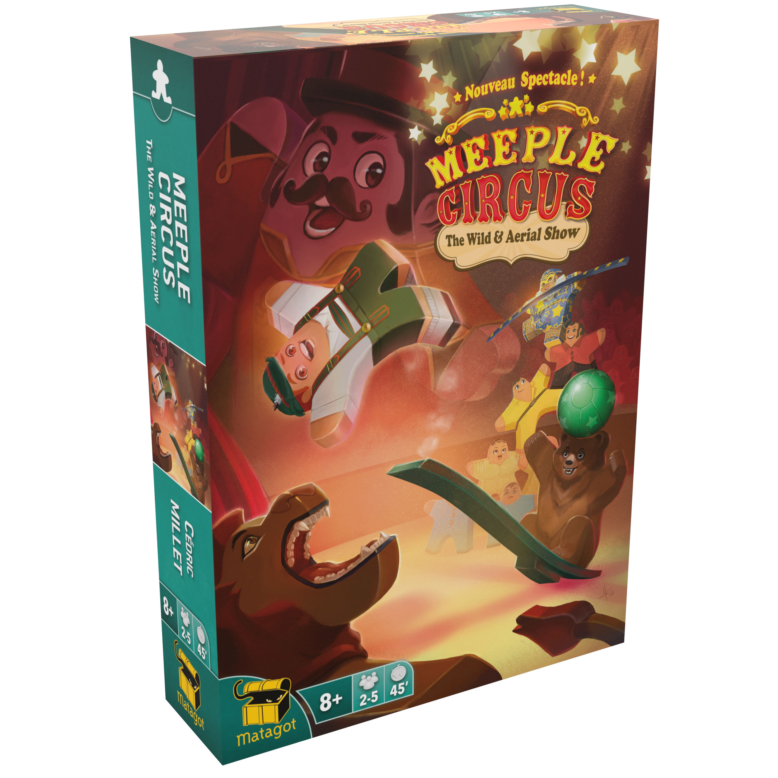 MEEPLE CIRCUS  The Wild Animal & Aerial Show
